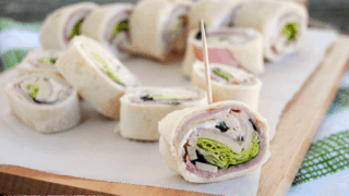 Ham & Cheese Roll Ups