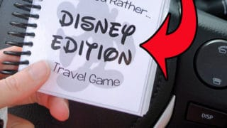 Disney Themed 'Would You Rather' Game