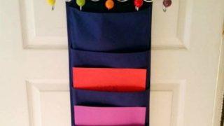 Homework Station Organizer Door Hanger