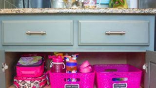 How to Create a School Lunch Station