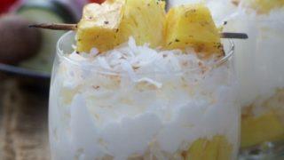 Grilled Pineapple Parfait