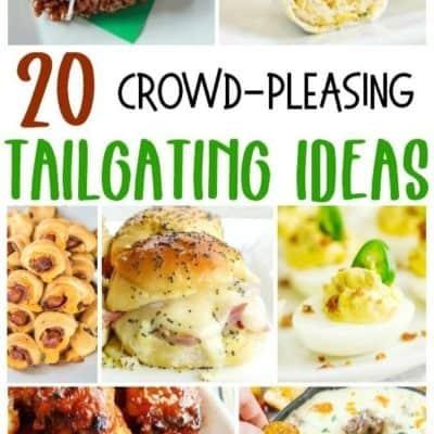 20 Crowd-Pleasing Tailgating Recipe Ideas