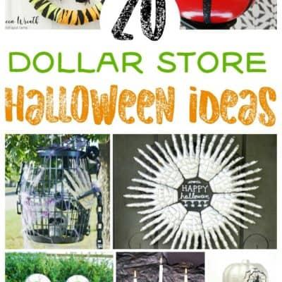20 Dollar Store Halloween Ideas