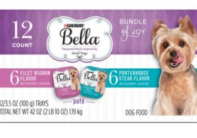 Printable Coupon: $4 off Bella Wet Dog Food + Walmart Deal