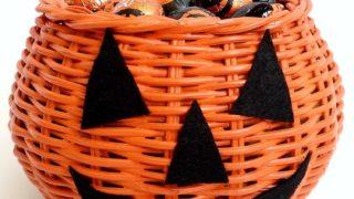 Halloween Basket/Candy Dish