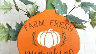 Pumpkin Patch Sign For Primitive Fall Decor
