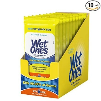 Wet Ones Antibacterial Hand Wipes (600 ct.): $18.96 + FREE Shipping