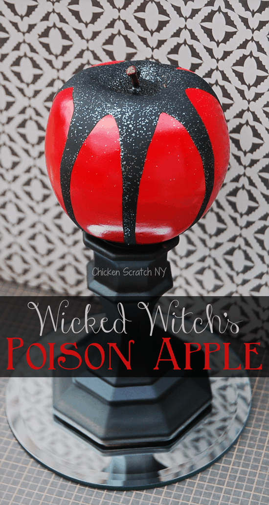 The Wicked Witch's DIY Poison Apple