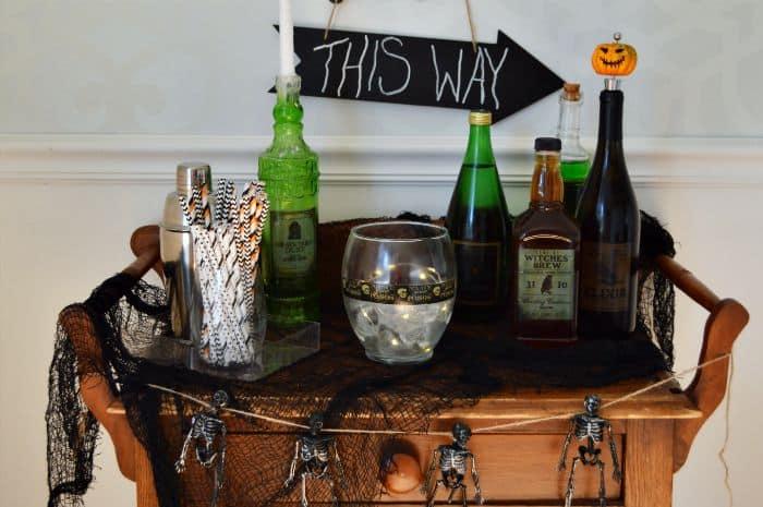 Halloween Bar Display