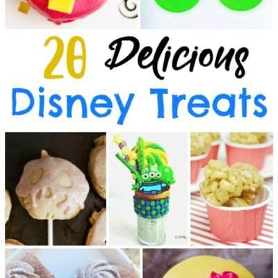 20 Delicious Disney Treats