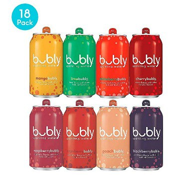bubly Berry Bliss Sampler Sparkling Water (18 ct.): $5.61 ($0.31 each) + FREE Shipping