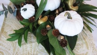 Home for Fall-Rustic Centerpiece