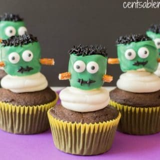 Frankenstein Cupcakes Recipe