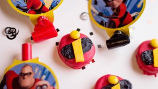 Incredibles Treats: No Bake Cookie Snacks for the Disney Movie