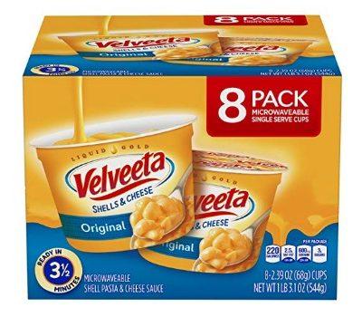 Velveeta Original Shells & Cheese Microwavable Cups (8 ct.): $4.28 + FREE Shipping