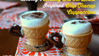 Disney's Beauty and the Beast Inspired Chip Teacup Cappuccino #BeautyandtheBeast