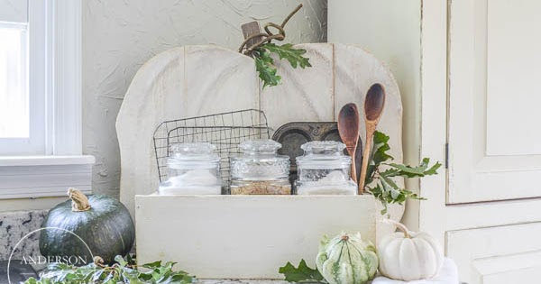 Rustic Pumpkin Stand Baking Station {DIH Workshop with Home Depot}