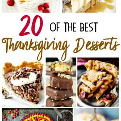 20 of the Best Thanksgiving Desserts
