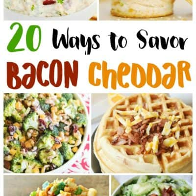 Bacon Cheddar Recipes