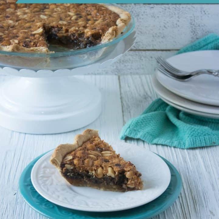 Chocolate Chip Peanut Butter Pie Recipe