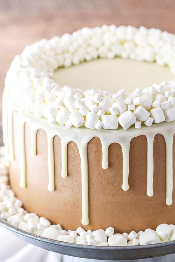Hot Chocolate Layer Cake