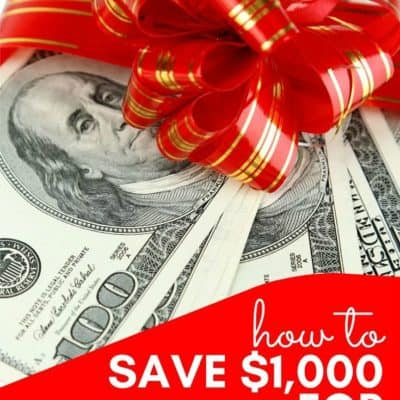 How to Save $1,000 for Christmas