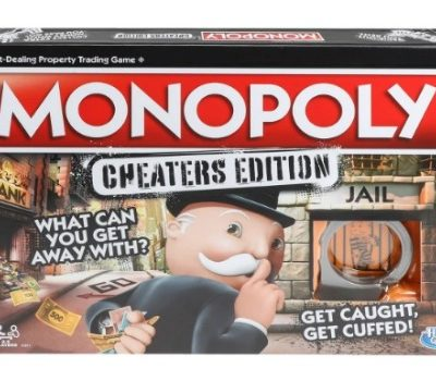 Monopoly Cheaters Edition: $8.06 (36% off)