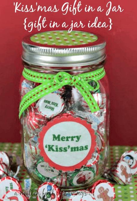 Kissmas Gift Jar Gift
