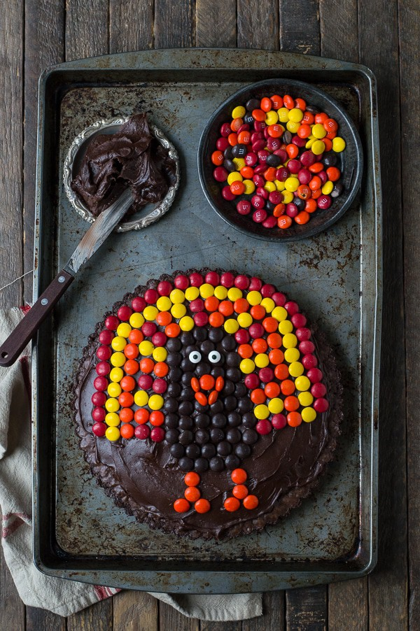 Chocolate Brownie Turkey Tart