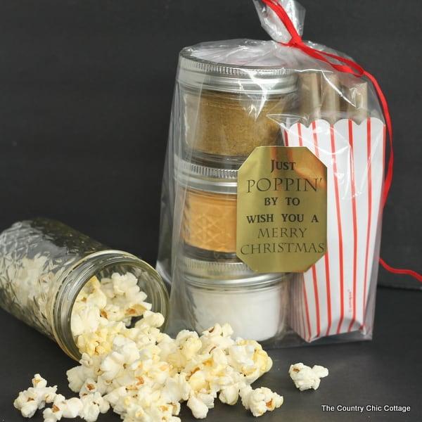 Gourmet Popcorn Gift Jar