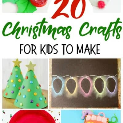 20 Christmas Crafts for Kids to Make
