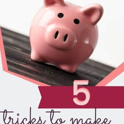 5 Tricks to Make Your Paycheck Stretch