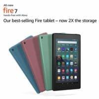 "Fire 7 Tablet (7"" display, 16 GB)"