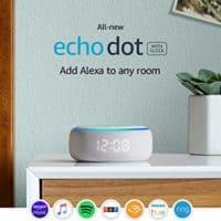 All-new Echo Dot (3rd Gen) - Smart speaker with clock and Alexa