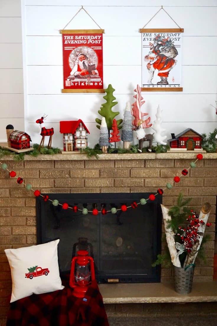 DIY Christmas Gift Box Poster Art
