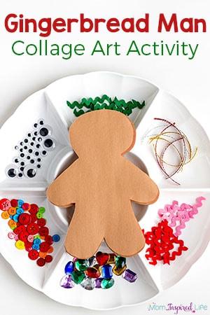 Decorate Paper Gingerbread Men
