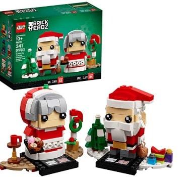 LEGO BrickHeadz Mr. & Mrs. Claus: $9.09 (55% off)