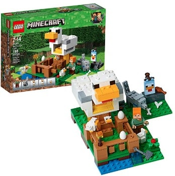 LEGO Minecraft The Chicken Coop: $12.79 (36% off)