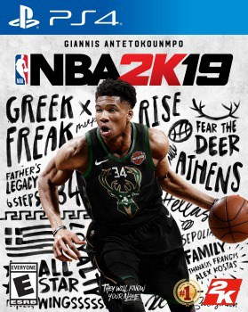 NBA 2K19 Video Game: $4.99 (92% off)