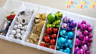 Organizer Drawers for Wrapping Supplies