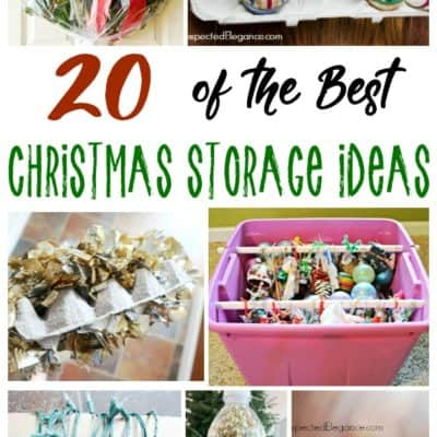 20 of the Best Christmas Storage Ideas