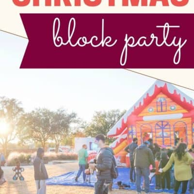 5 Tricks to Host a Christmas Block Party