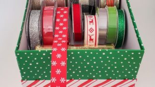Christmas Boxes to Store Supplies