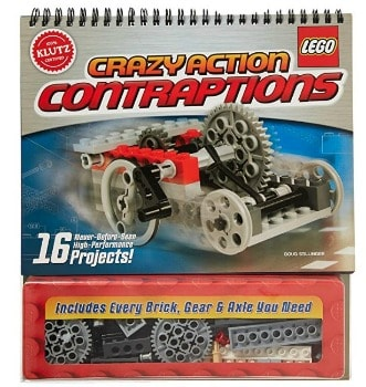 Klutz LEGO Crazy Action Contraptions Craft Kit: $11.23 (49% off)