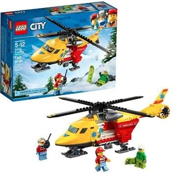 LEGO City Ambulance Helicopter: $6.49 (68% off)