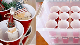 Make Your Own Christmas Ornaments Storage Box