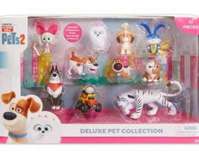 Secret Life of Pets 2 Deluxe Pet Collection (10 pk.): $9.87 (60% off)