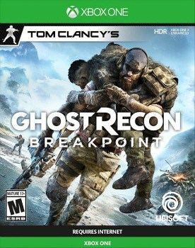 Tom Clancy's Ghost Recon Breakpoint Xbox One Game: $19.99 (67% off)