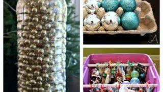7 Christmas Decoration Storage Hacks