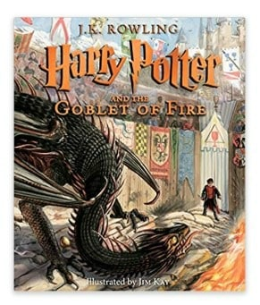 Harry Potter and the Goblet of Fire: The Illustrated Edition: $19.19